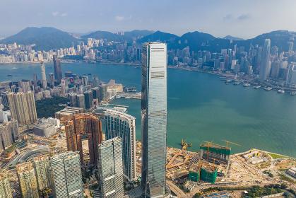 Kowloon West, Hong Kong, 14 September 2018:- Hong Kong urban city