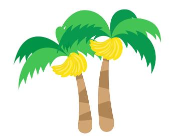 バナナの木のイラスト