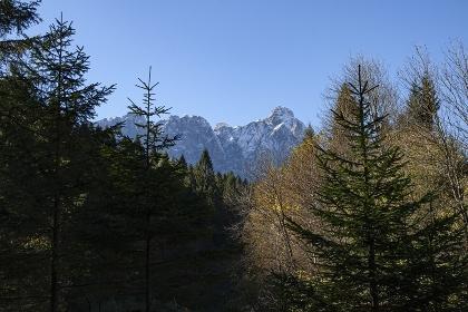 Landscape in the dolomites