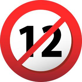 R-12 12禁 12歳 暴力表現 性的表現 成年コンテンツ 規制 制限 警告