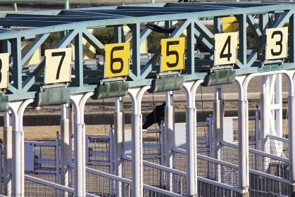 競馬の出走ゲート
