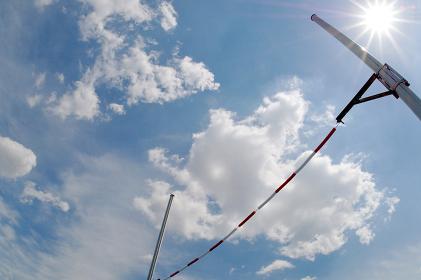 陸上競技 棒高跳のバー