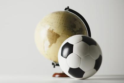 サッカーボール 地球儀