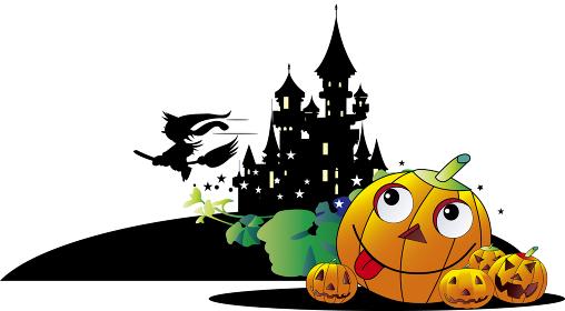 ハロウインの家と魔女