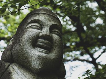恵比寿様の石像