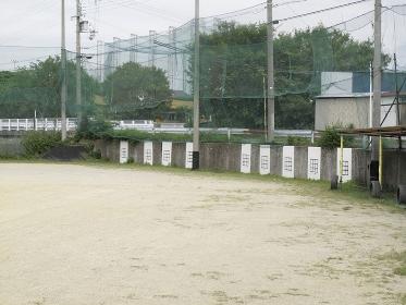 少年野球練習場のストライクゾーン