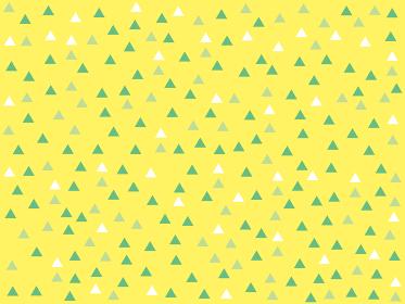 シンプルな三角形のランダムな背景パターン 黄色バージョン