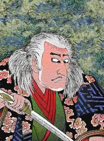 浮世絵 歌舞伎役者 その14 油絵バージョン