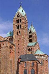 speyer cathedral from south