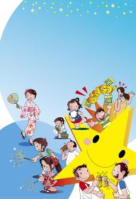 夏祭りのポスター