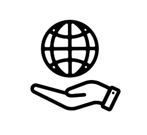 グローバルネットワーク・IT・インターネット アイコン