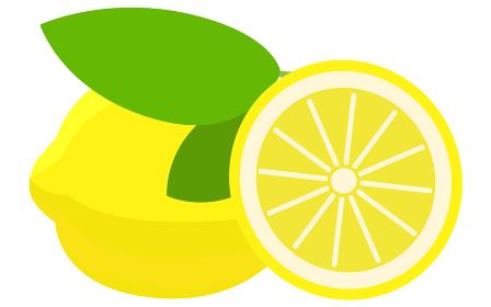 レモンのイラスト ベクター