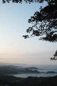 台湾・九份から見える風景