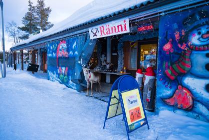 フィンランド(サーリセルカ)土産物屋