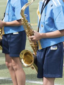 小学校のマーチングバンド