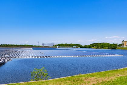 山倉水上メガソーラー 太陽光発電 【 SDGs イメージ 】