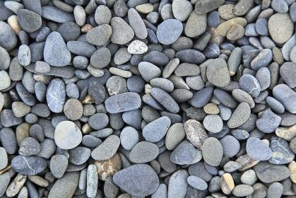 一面の石ころ