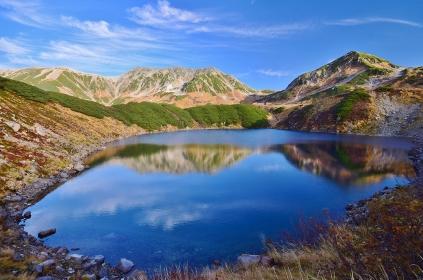 北アルプス 立山連峰 みくりが池
