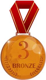 銅メダル:オリンピック スポーツ 銅 メダル 競技 売上 優秀 表彰 授与 3位 優勝