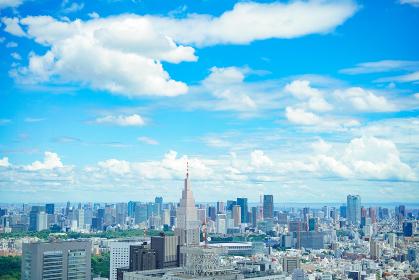 晴天の都市風景