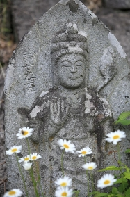奥の細道 立石寺菩薩像