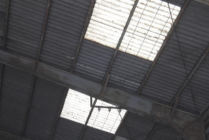 倉庫の採光用の天窓