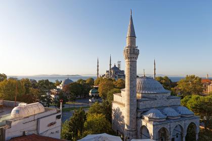 トルコ イスタンブール スルタンアファメット付近