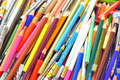 たくさんの鉛筆