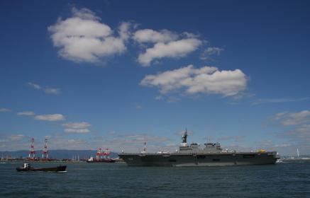 海上自衛隊の護衛艦 DDH182「いせ」