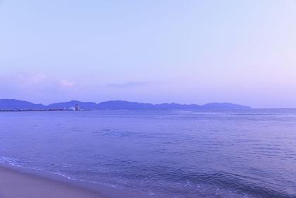 弓ケ浜の朝