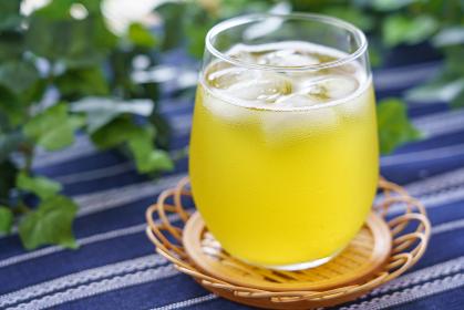 冷たい 緑茶