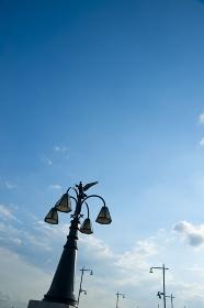 小岩大橋のシンボル電灯