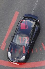 自動車の燃料計のイメージ合成