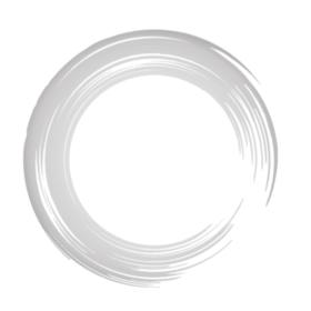 丸、円形の筆書き和風素材。ブラシストローク(灰色、薄墨ぼかし)