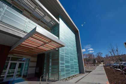アメリカ ソルトレイクシティ公共図書館 別館