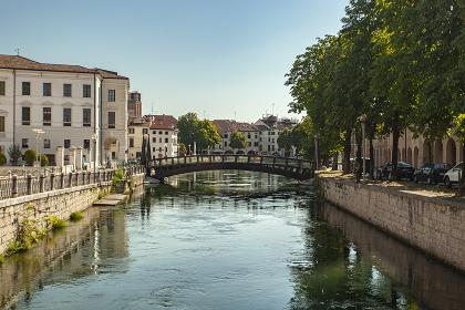 Landscape of Buranelli river in Treviso 2