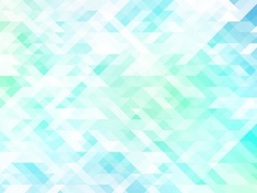 アブストラクト ポリゴンB ブルーグリーン 01