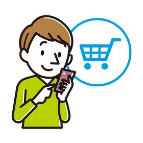 ネットショッピング 男性