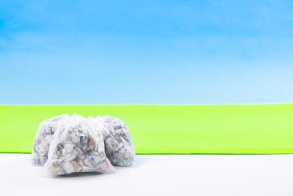 ごみ袋 社会問題 ごみの日イメージ