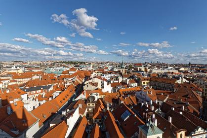 プラハの街並み 旧市庁舎付近 チェコ