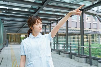 都会の看護師