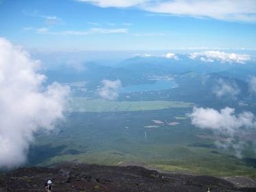 富士山登山からの風景