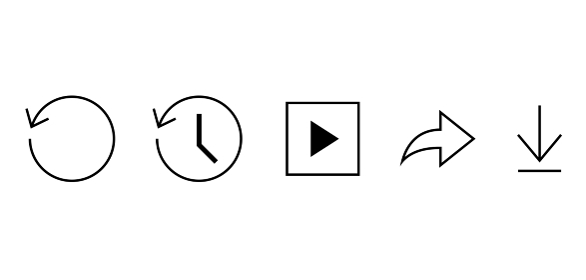 矢印のウェブアイコン セット