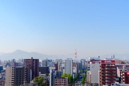 小倉駅南口付近の景観