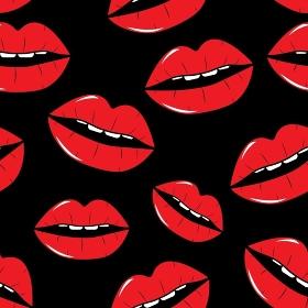 Lips Seamless Pattern Background in Pop Art Style Vector Illustration EPS10. Lips Seamless Pattern Background in Pop Art Style Vector Illustr