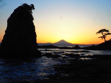 横須賀・立石からのダイアモンド富士