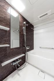 新築分譲マンションのきれいな浴室