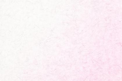 ピンク色の和紙のテクスチャ背景素材 雲竜紙 淡紅色