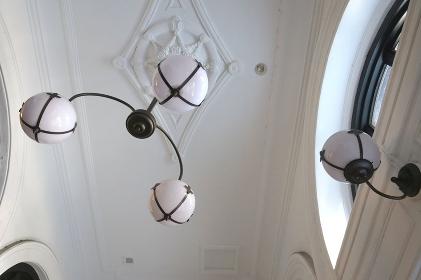 洋館のランプ
