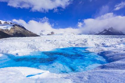 パタゴニア地方のペリト モレノ氷河